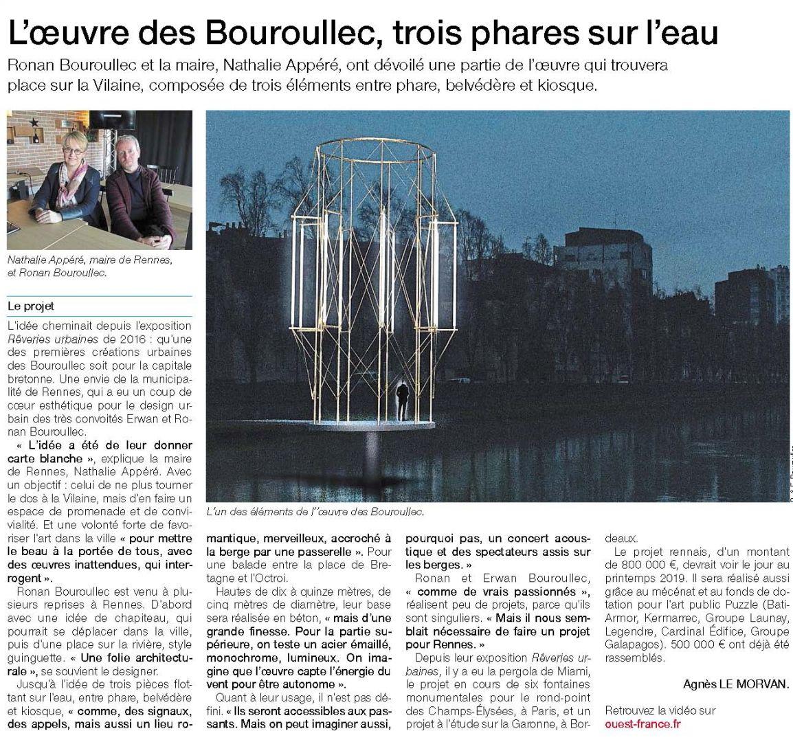 BATI ARMOR MÉCÈNE DU PROJET DES KIOSQUES DES FRÈRES BOUROULLEC