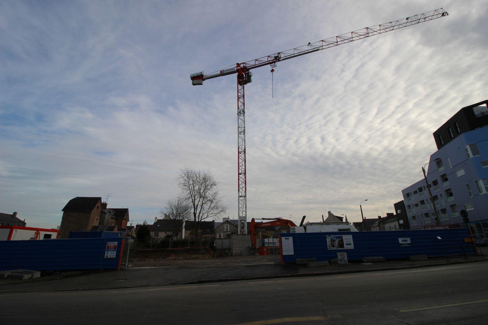 Lancement des travaux pour l'un des programmes phares de BATI ARMOR: DOLCE VITA, rue de l'Alma à Rennes.