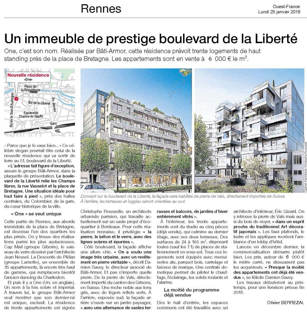one boulevard de la liberté rennes place de bretagne