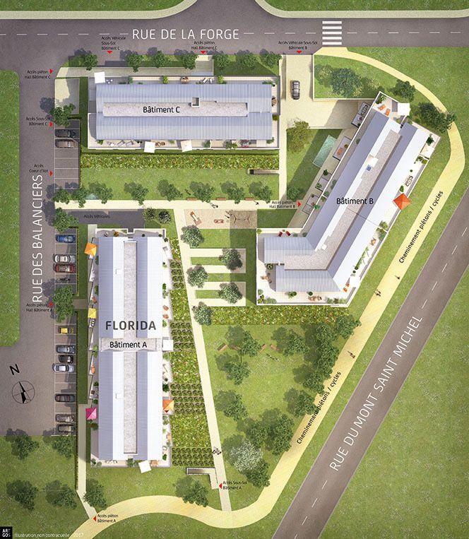 Achat appartement appartement neuf betton programme neuf for Plan betton