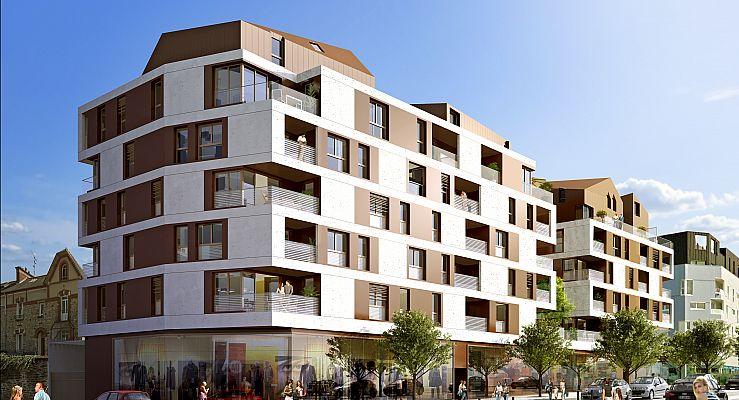 achat commerce appartement neuf rennes programme neuf le metropolitan commerces. Black Bedroom Furniture Sets. Home Design Ideas